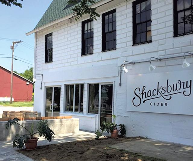 Shacksbury's tasting room - COURTESY OF SHACKSBURY CIDER