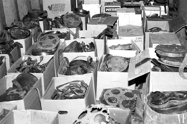Dawson City film archives - PHOTOS COURTESY OF HOPKINS CENTER FOR THE ARTS