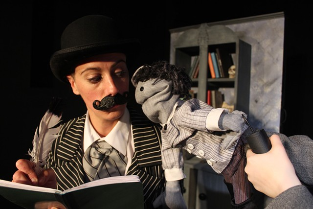 Cael Barkman in Gorey Stories - COURTESY OF  SAINTS AND POETS PRODUCTION COMPANY