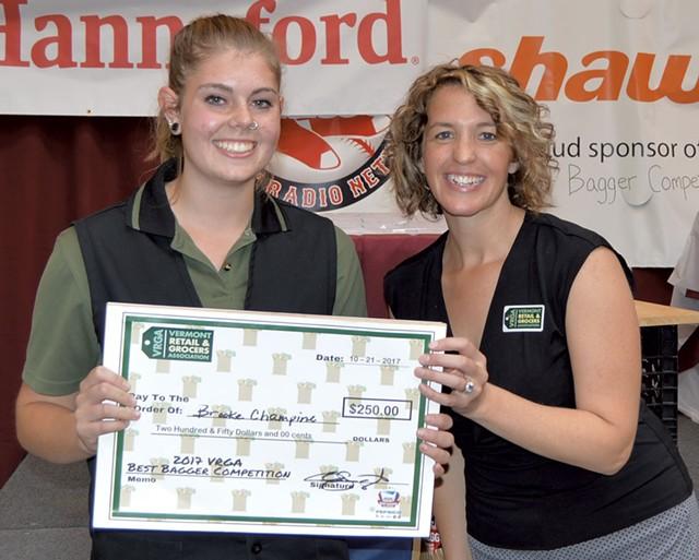 Brooke Champine (left) and Erin Sigrist - COURTESY OF VRGA