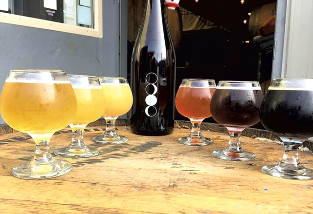 Beers at Four Quarters Brewing - COURTESY OF FOUR QUARTERS BREWING