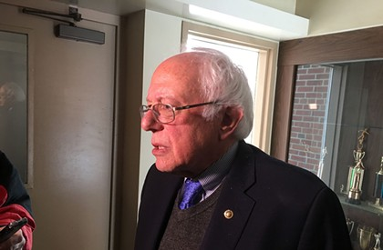 The Media Bern: Sanders Keeps Vermont Press at Arm's Length