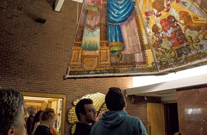 Burlington's Lost Shul Mural Inspires a New Play