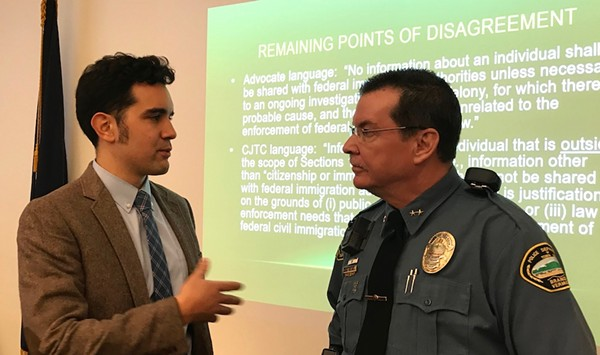 Despite Activist Outcry, Panel Passes Updated Impartial Policing Policy