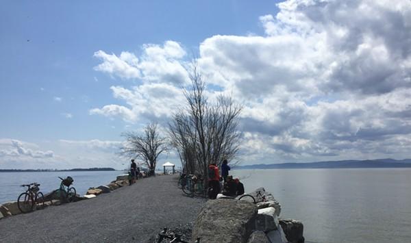Bike Ferry Won't Run This Year Due to Causeway Damage