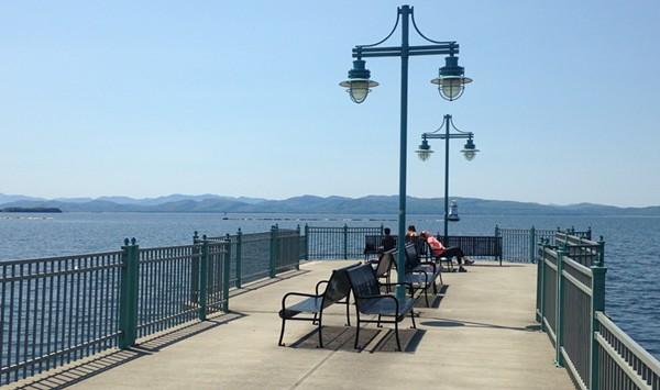 Burlington Fishing Pier to Close During Marina Construction