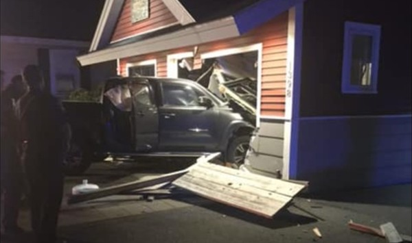 A Truck Plows Into Bessery's Butcher Shoppe