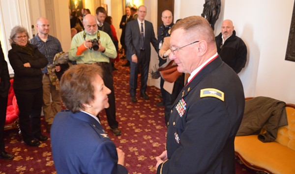 Greg Knight, Newly Elected Leader of the Vermont Guard, Vows Culture Change