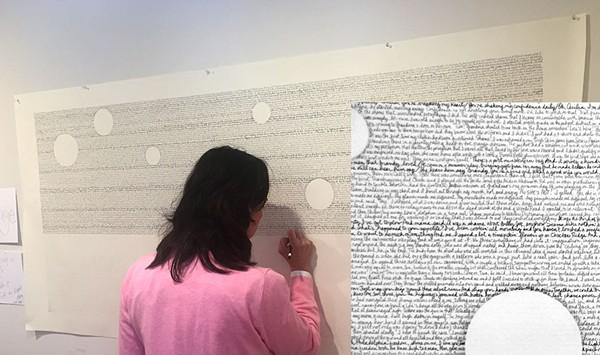 Art Review: Teresa Celemin's 'Works on Paper,' Studio Place Arts