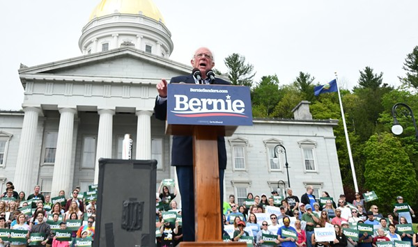 At Homecoming Rally in Montpelier, Bernie Sanders Thanks Vermont
