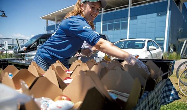 A Burlington Project Helps Feed Kids When School Is Out