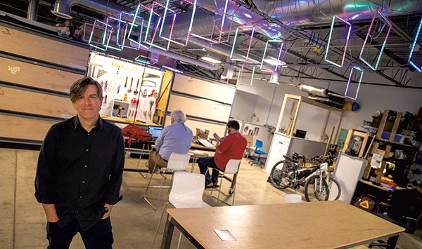 Charting the Growth and Challenges of Burlington Maker Space Generator