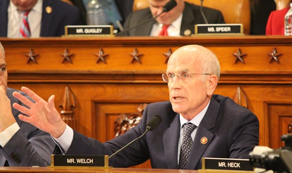 At House Impeachment Inquiry, Welch Invites Trump to Testify