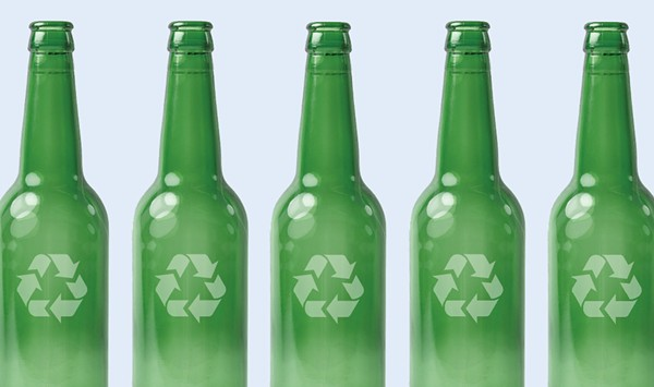 Glass Action: A Burlington Startup Aims to Turn Recyclables Into Building Material