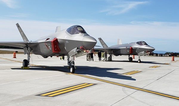 Pandemic Grounds Some Commercial Flights but F-35s Continue to Prowl Skies