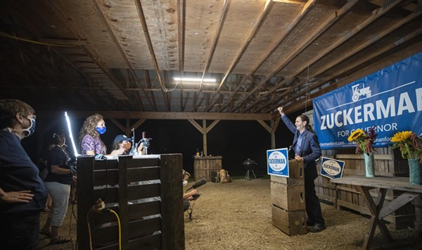 Zuckerman to Face Scott in Governor's Race, Gray Upsets Ashe for LG