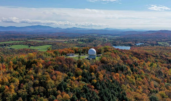 Stuck in Vermont: Flying Above Fall Foliage With Armand Messier in St. Albans
