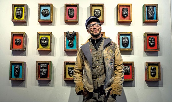 From Painting to Sculpting to Blacksmithing, Harlan Mack's Artwork Relays a Worldview