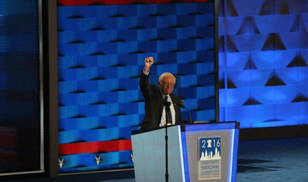 Bernie Sanders Appeals for Unity in Democratic Convention Address