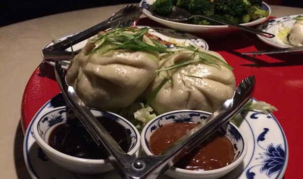 Dining on a Dime: Two Cha Shao Buns for $8 at A Single Pebble