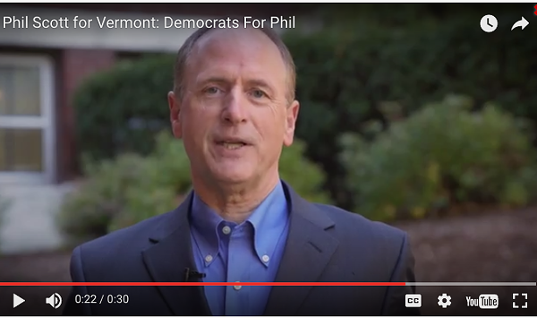 Courting Democrats, Republican Phil Scott Airs a Familiar Ad