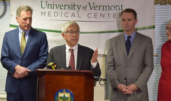 Vermont Health Commissioner Chen Will Not Seek Reappointment
