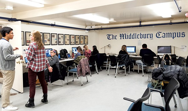 A Campus Fracas Tests Middlebury College's Student Journalists