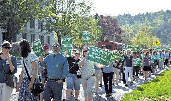 A Near Miss in Montpelier Suggests a Union's Clout Is Waning