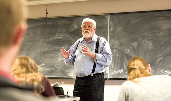 Fifty Years, 13,450 Students and 5,000 Interviews: UVM's Garrison Nelson Calls It a Career