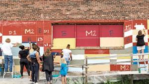 Moran Plant Mural Has Been Vandalized