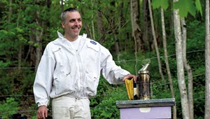 Work: State Apiarist David Tremblay Is Buzzing