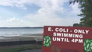 The Parmelee Post: Burlington Enforces 'E. Coli-Only' Swim Times at Beaches