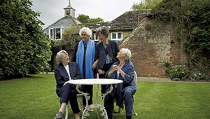 Movie Review: Movie Stars, Mortality and More Fuel a Rewarding 'Tea With the Dames'