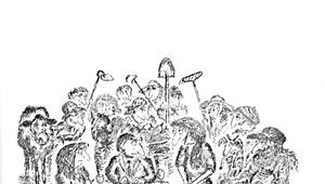 Cartoonist Edward Koren Releases New Book, 'Koren. In the Wild'