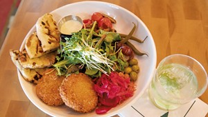 One Dish: Digging Into the ChickPea Fritters at the Great Northern