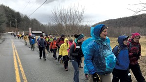 The Trudge Report: <i>Seven Days</i> Joins a Walk to Save the Planet