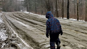 Mind the Gap: Mud Season Continues for Some Roxbury Residents