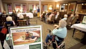 Senior Living Facility in Shelburne Hosts Medical Marijuana Panel