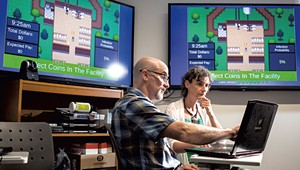 UVM Researchers Use Video Games to Prevent Pigs From Getting Sick