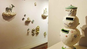 Art Review: 'East to West: A Ceramic Dialogue,' BigTown Gallery