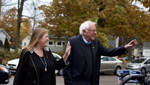 Jane O'Meara Sanders: Bernie to 'Get Back Out There' After Resting in Burlington