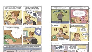 Graphic Novelist Chronicles Ups and Downs of Pregnancy