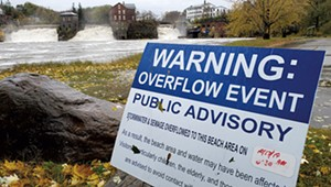 Strong Storms Frustrate Efforts to Reduce Wastewater Overflows in Vermont