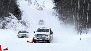 Team O'Neil Rally School Teaches Drivers to Get a Grip on Winter Roads
