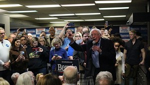 Sanders and Buttigieg Lead the Pack in Iowa, Partial Results Show