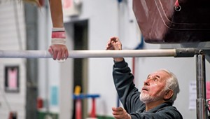 Esteemed Coach Helps Green Mountain Gymnasts Stick Their Landings