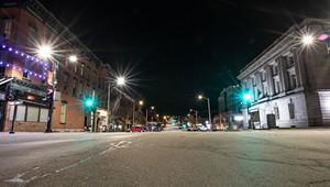 Photographer Luke Awtry Documents Downtown During Quarantine