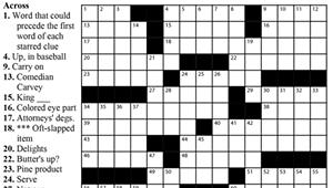 "Crossword: ""Slippery Stuff"" (4/15/20)"