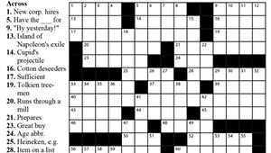 "Crossword: ""Eastwood Classic"" (4/22/20)"