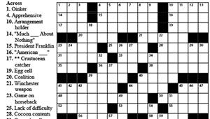 """Crossword: """"Scarlet"""" (5/6/20)"""